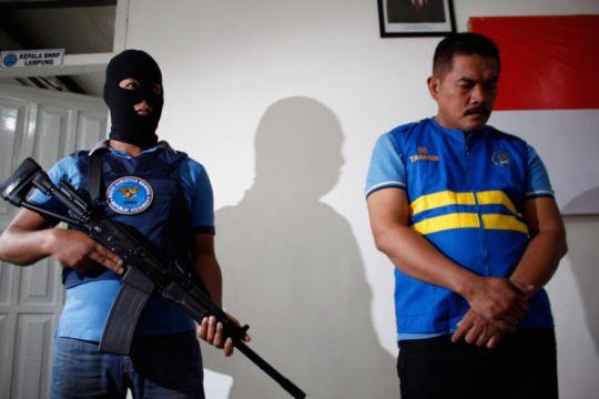 Kepala Lapas Kalianda ditahan BNNP Lampung