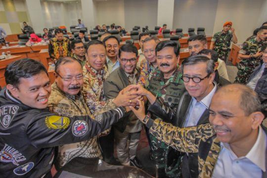 Pemerintah segera buat perpres pelibatan TNI dalam berantas terorisme