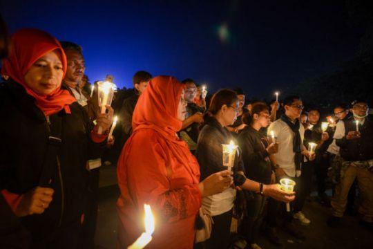 Ratusan warga Banda Aceh teken petisi lawan teroris