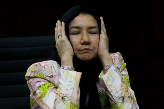 Bupati Kukar Rita Widyasari dituntut 15 tahun penjara