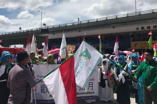 Ribuan TKI Hong Kong ikuti pawai sambut Ramadhan