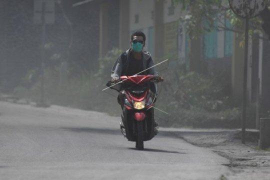 Wilayah Dukun Magelang kembali diguyur hujan abu