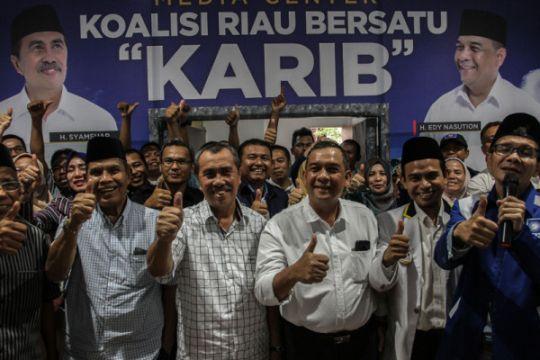 Firdaus selamati Syamsuar - Edy pemenang Pilkada Riau