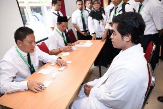 Ini kegiatan pertama petugas haji di Mekkah