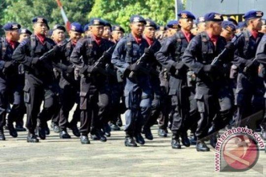 100 Brimob Polda Riau turut jaga Freeport di Papua