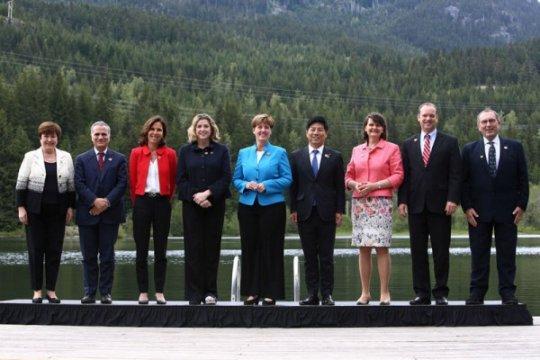 Pejabat: Uni Eropa tolak kembalinya Rusia ke KTT G7