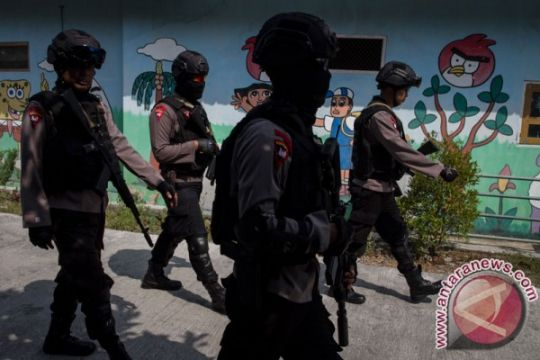Polisi benarkan Densus 88 tangkap terduga teroris di Sleman