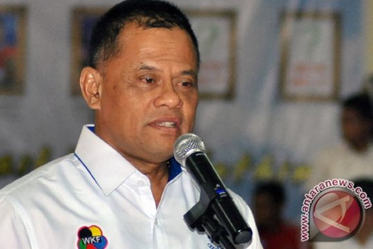 Gatot Nurmantyo pertaruhkan jabatan jika tidak ada karateka Indonesia yang lolos ke Olimpiade