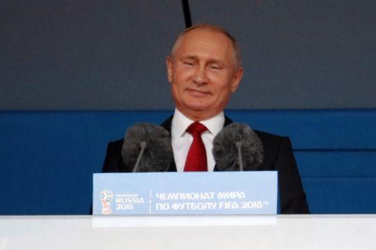 Putin ucapkan selamat atas kemenangan besar Rusia