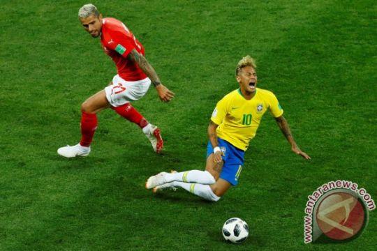 Pulih, Neymar pimpin lini depan Brazil hadapi Kosta Rika