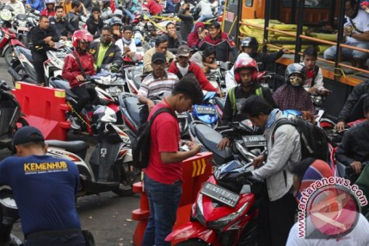 Ribuan pemudik Solo diberangkatkan dengan bus gratis
