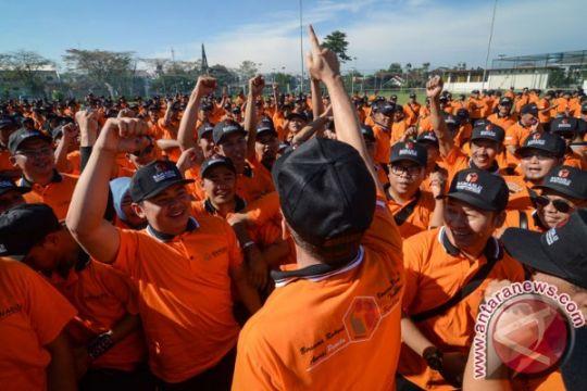 Ratusan pengawas pemilu ikuti apel siaga