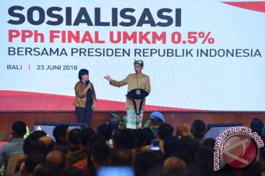 Presiden dijadwalkan sosialisasi penurunan pajak UMKM di Bali