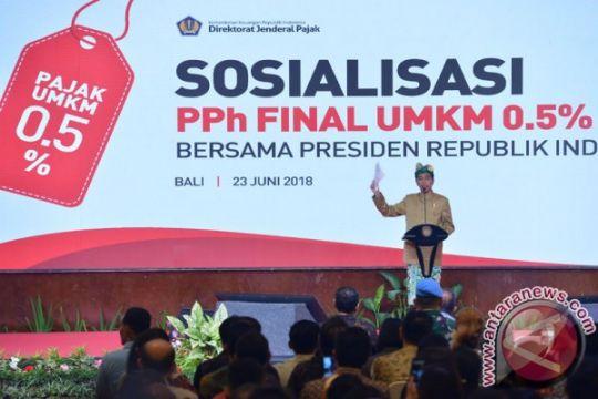 Presiden Jokowi ingatkan konsistensi pemanfaatan PPh final UMKM