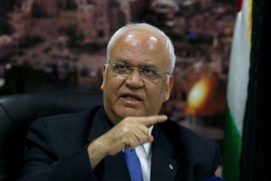 """Erekat seru EU hentikan """"kejahatan"""" Israel terhadap tahanan"""