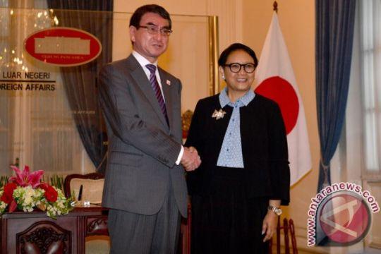 Menlu Jepang tinjau proyek MRT Jakarta