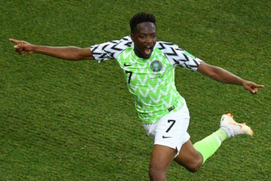 Nigeria jaga peluang ke 16 besar berkat dwigol Ahmed Musa
