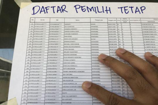 KPU Bekasi tetapkan 2.053.546 pemilih masuk DPT