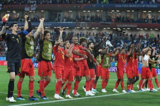 Catatan-catatan kemenangan Belgia atas Inggris