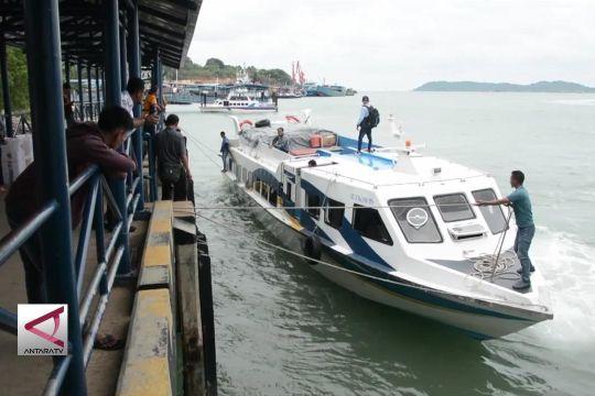 Arus balik kapal Batam-Tanjungpinang mulai padat