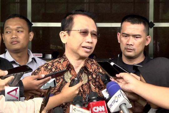Marzuki Alie bantah mengetahui aliran dana KTP-el ke demokrat