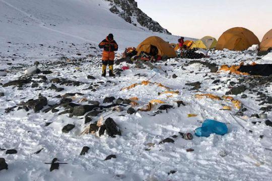 Sampah 8,5 ton dibersihkan dari Gunung Everest