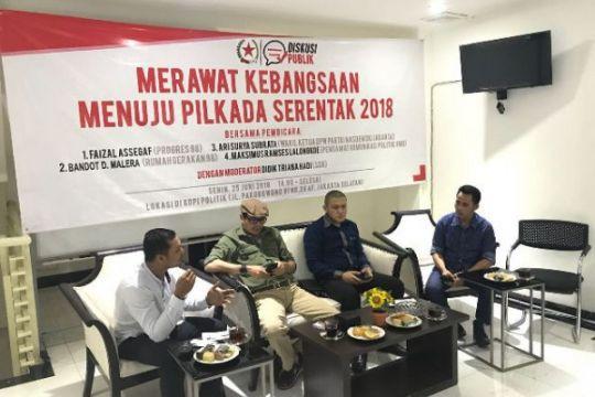 Pilkada serentak 2018 diyakini berlangsung damai dan aman