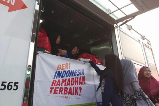 ACT tetap bagikan makanan saat Idul Fitri