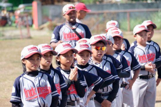 Indonesia runner-up kejuaraan bisbol U-10 Asia Pasifik