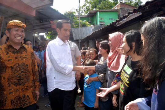 Begini Lebaran Presiden Jokowi di Solo