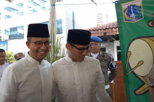 Anies: dirgahayu kota Jakarta tercinta!