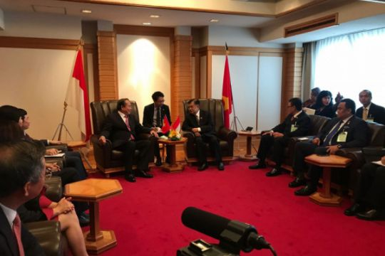 Wapres terima kunjungan kehormatan Deputi PM Vietnam