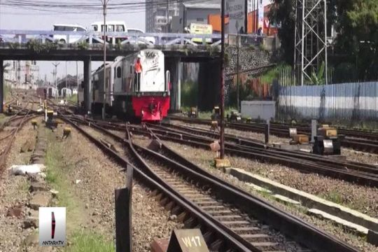 Jalur ganda KA Bogor-Sukabumi tersandung pembebasan lahan
