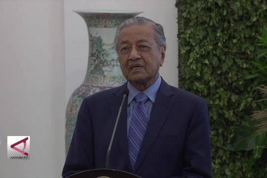 Mahathir ajak Indonesia lawan kampanye negatif kelapa sawit