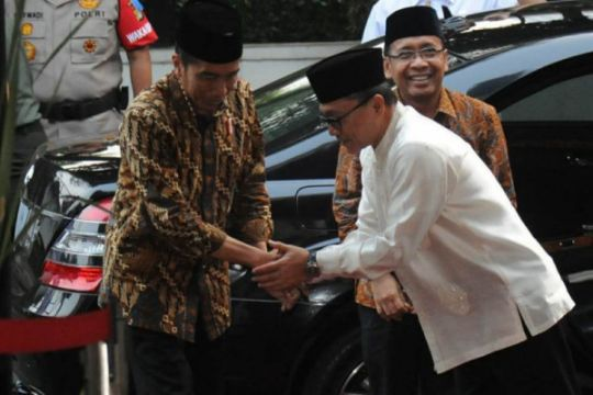 Ketua MPR: Stigma Presiden Jokowi jauhi umat Islam terbantahkan