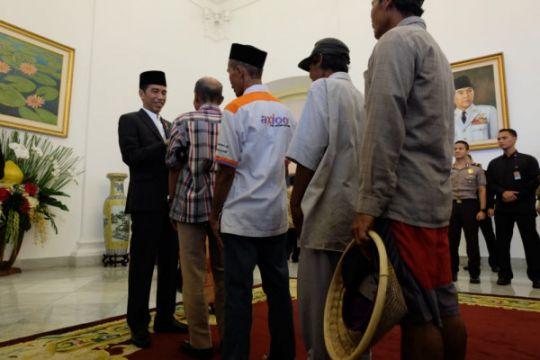 """Masyarakat ucapkan """"Selamat Lebaran"""" kepada Presiden Jokowi"""