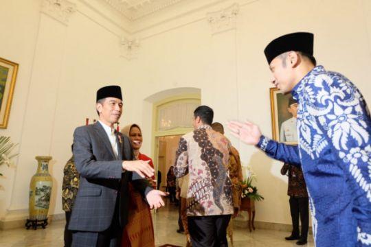 AHY silaturahim ke Jokowi, ini komentarnya