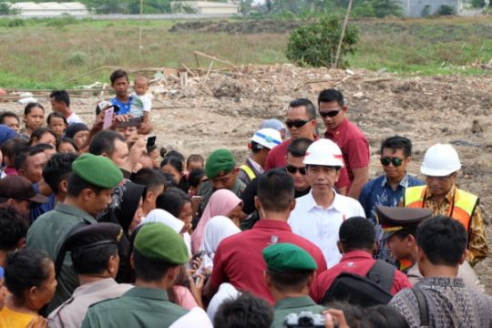 """Presiden Jokowi selalu """"rayakan"""" ulang tahunnya dengan blusukan"""