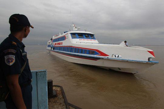 Arus balik kapal penumpang menuju Batam
