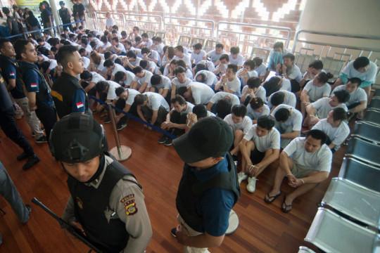1.382 WNA di Indonesia dijatuhi sanksi