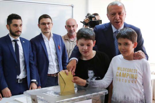 Erdogan unggul dalam pemilihan presiden Turki