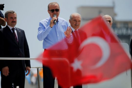 Erdogan: pelaku teror akan dikubur di parit yang mereka gali