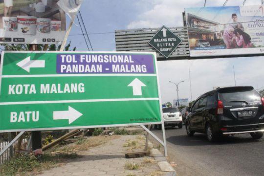 Tol Pandaan-Malang dilalui 76.668 kendaraan, sebelum ditutup kembali