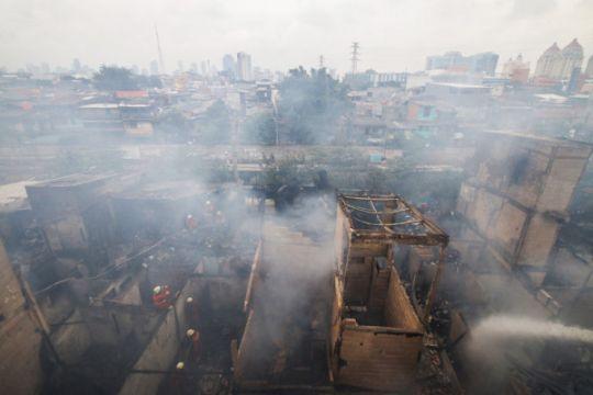 Kebakaran permukiman padat penduduk