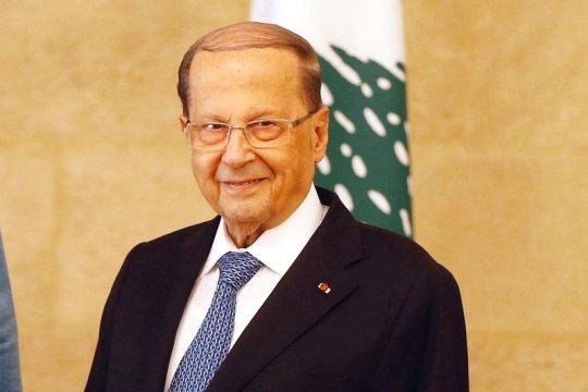 Presiden Lebanon serukan pengungsi Suriah pulang