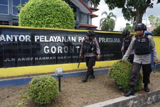 Penyisiran kantor pajak Gorontalo