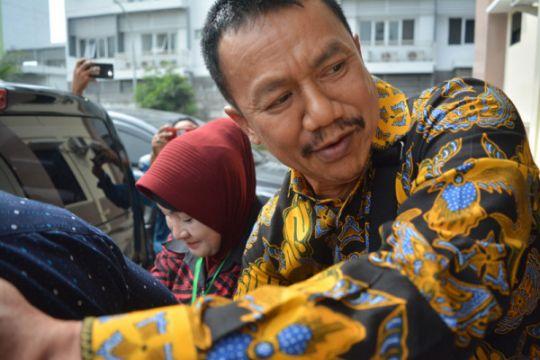 Calon bupati Jombang, Nyono, gunakan hak pilih di rutan