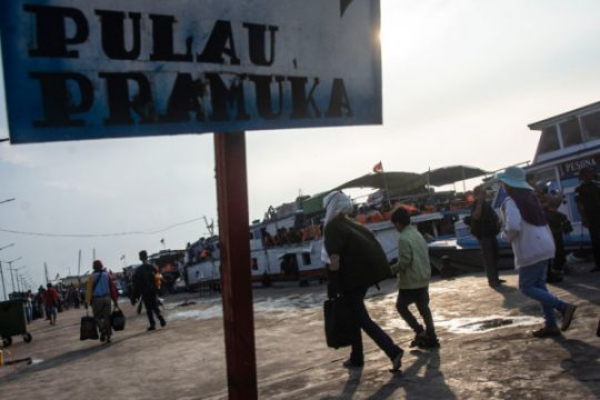 Polres Kepulauan Seribu buru 13 tahanan kabur