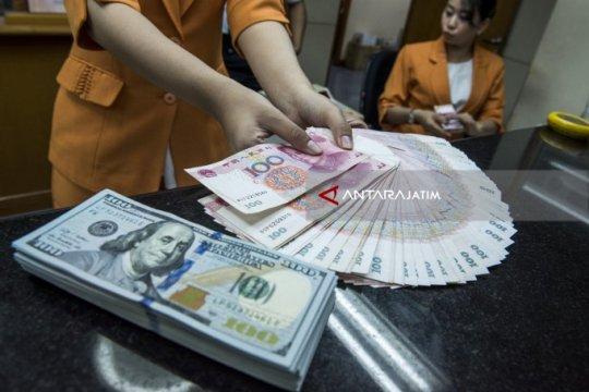 Yuan menguat tajam 99 poin, hentikan 2 hari penurunan beruntun