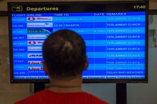 Penerbangan di Juanda terdampak penutupan bandara Semarang